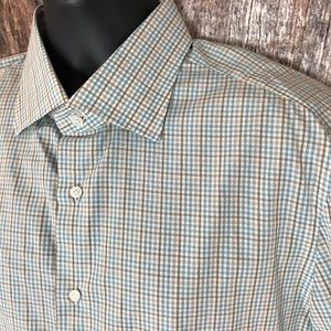 NWT Isaia Men's Dress Shirt 17